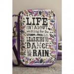 Dance in the Rain Art & Soul Wristlet