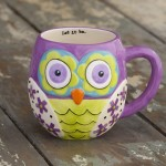 Purple Owl Mugs
