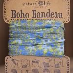 Blue Boho Bandeau