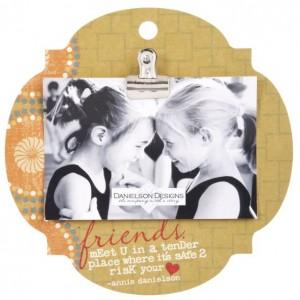 Clip frame - Friends meet