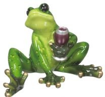 Happy Hour Frogs - Figurines
