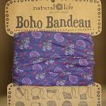 Purple Boho Bandeau