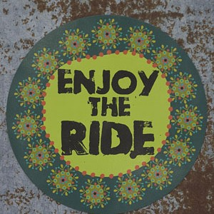 Home Shop Natural Life Enjoy The Ride Magnet Nlcarm013