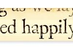 Sign: and they lived happily ...GZDDBC101
