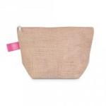 zipper pouch pink